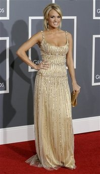 Carrie Underwood - Grammy Awards Arrivals