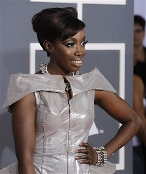 Estelle - Grammy Awards Arrivals
