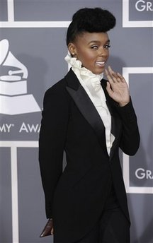 Janelle Monae - Grammy Awards Arrivals