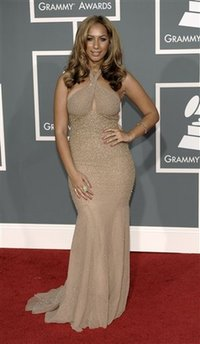 Leona Lewis - Grammy Awards Arrivals