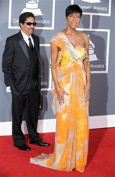 Natalie Cole - Grammy Awards Arrivals