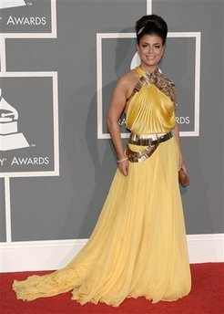 Paula Abdul - Grammy Awards Arrivals