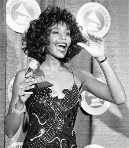File photo of Whitney Houston in New York