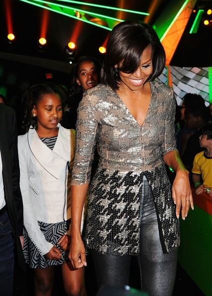 Michelle Obama at Kids' Choice Awards