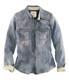 Denim shirt ($29.95)