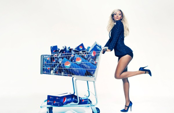 Beyonce partnership with Pepsi