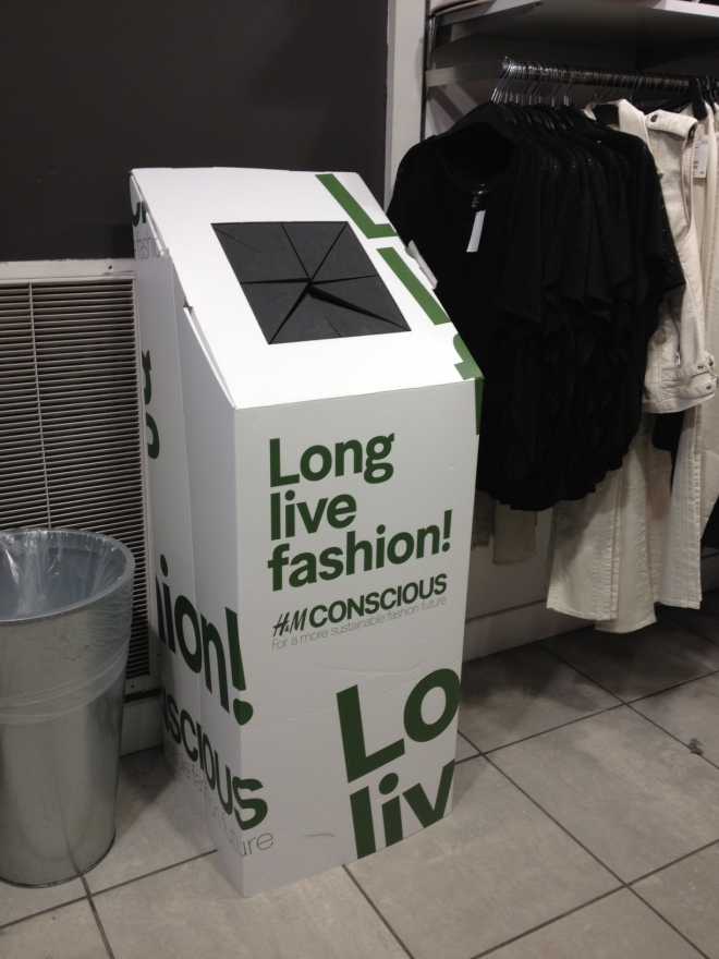 H&M Wants Your Old Clothes!