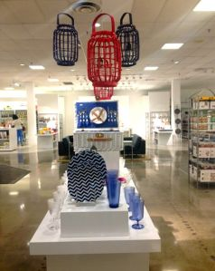 Fourth of July in the jcpenney Home department, Lakeforest Mall