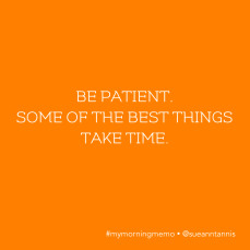Quotes about patience.