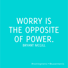 Inspirational quotes about worry
