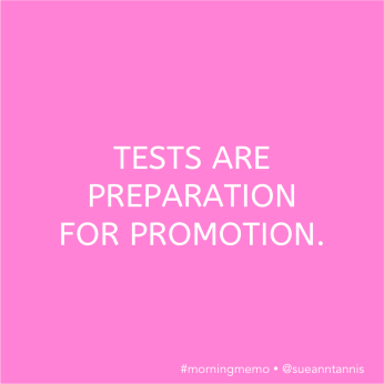 Inspirational quotes about tests