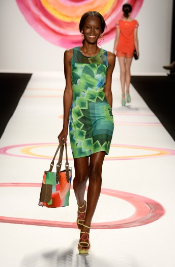 Desigual: Photo by Frazer Harrison/Getty Images for Mercedes-Benz