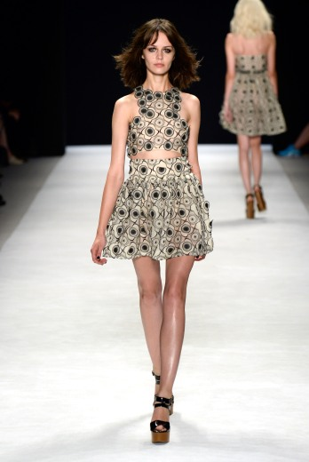 Jill Stuart: Photo by Frazer Harrison/Getty Images for Mercedes-Benz Fashion Week Spring 2014