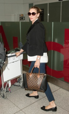 Uma Thurman - Louis Vuitton W Bag