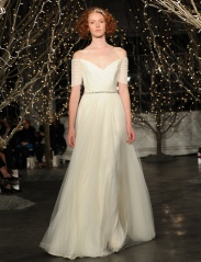 Jenny Packham Bridal Fall 2014 // Photo credit: theknot.com