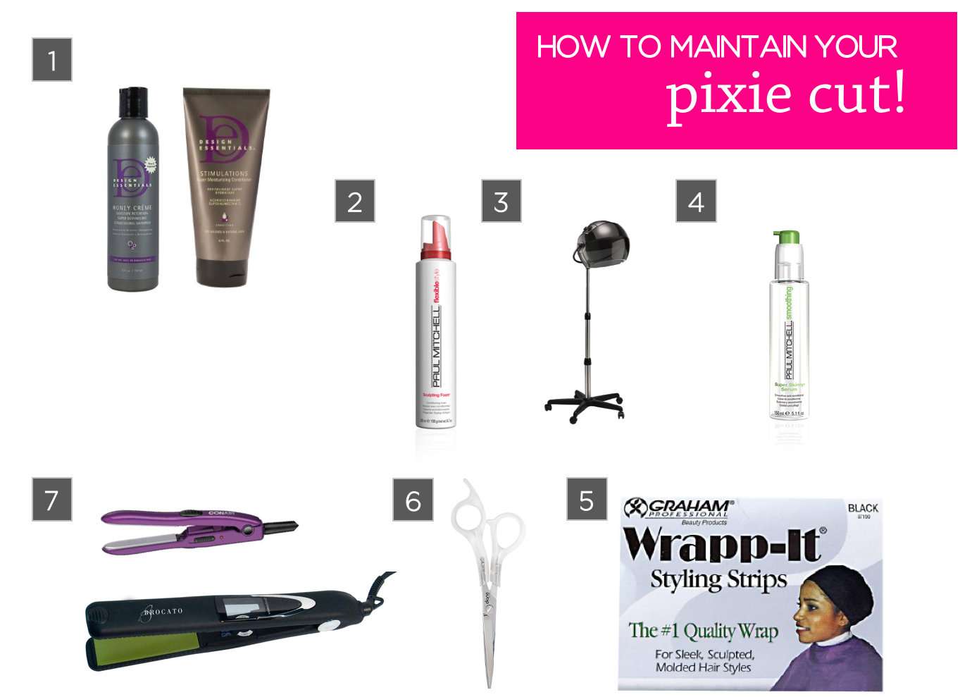 How To Maintain A Pixie Haircut My Favorite Products And Tools