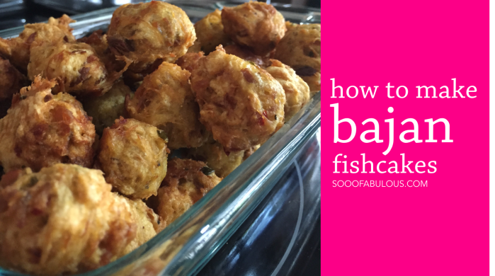 how to make bajan fishcakes